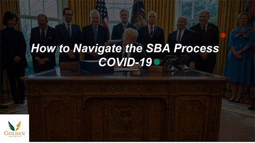 SPECIAL SBA Covid-19 Massive Opportunity Right Now!