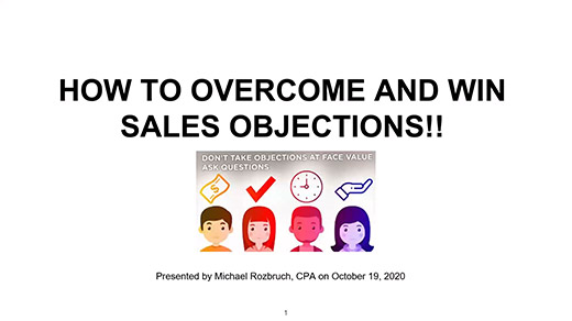 How to Overcome and WIN Sales Objections!
